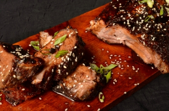 Korean Style Baby Back Ribs