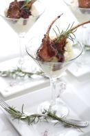 Lamb Wasabi Mash Martini